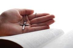 σταυρός Βίβλων Στοκ Εικόνες