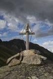 Σταυρός βουνών Στοκ εικόνα με δικαίωμα ελεύθερης χρήσης