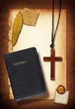 σταυρός κολάζ Στοκ Εικόνα