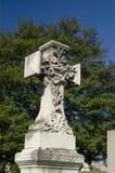 Σταυρός νεκροταφείων Στοκ εικόνα με δικαίωμα ελεύθερης χρήσης