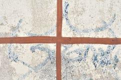 σταυρός που χρωματίζετα&io Στοκ φωτογραφία με δικαίωμα ελεύθερης χρήσης