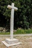 Σταυρός σε ένα ευρωπαϊκό χωριό στοκ εικόνες με δικαίωμα ελεύθερης χρήσης