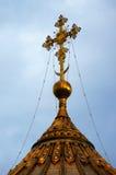 Σταυρός στην κόκκινη πλατεία, Μόσχα, Ρωσία στοκ φωτογραφίες