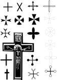 σταυρός συλλογής Στοκ φωτογραφίες με δικαίωμα ελεύθερης χρήσης
