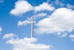 σταυρός σύννεφων Στοκ φωτογραφίες με δικαίωμα ελεύθερης χρήσης