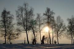 σταυρός χωρών Στοκ Φωτογραφίες
