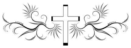 σταυρός απεικόνιση αποθεμάτων