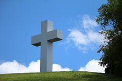 Σταυρός Jumonville Στοκ εικόνες με δικαίωμα ελεύθερης χρήσης