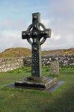 Σταυρός Kildalton, νησί Islay, Σκωτία Στοκ Φωτογραφίες