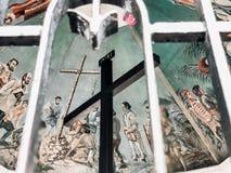 Σταυρός Magellan's πόλεων του Κεμπού, Φιλιππίνες στοκ φωτογραφία με δικαίωμα ελεύθερης χρήσης