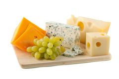 σταφύλια τυριών στοκ εικόνες