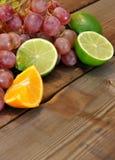 Σταφύλια, ασβέστες, λεμόνια και πορτοκάλια Στοκ φωτογραφίες με δικαίωμα ελεύθερης χρήσης
