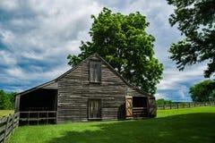 Σταύλος Meeks, εθνικό ιστορικό πάρκο σπιτιών δικαστηρίου Appomattox Στοκ Φωτογραφίες