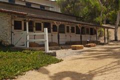 Σταύλοι αλόγων στο Leo Carrillo Στοκ εικόνα με δικαίωμα ελεύθερης χρήσης