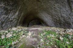 Σταλαγμίτες σπηλιών Στοκ Φωτογραφία