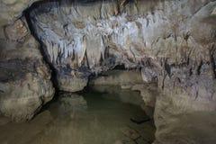 Σταλαγμίτες σπηλιών Στοκ εικόνες με δικαίωμα ελεύθερης χρήσης