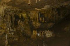 Σταλαγμίτες σταλακτιτών σπηλιών PROMETHEUS μέσα στη Γεωργία Στοκ Φωτογραφία