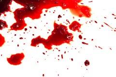 Σταλαγματιά αίματος Στοκ Εικόνα