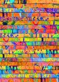 Σταλαγματιές χρωμάτων στοκ φωτογραφία