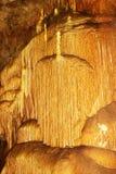 Σταλακτίτες σε ένα μάρμαρο σπηλιών Στοκ φωτογραφία με δικαίωμα ελεύθερης χρήσης