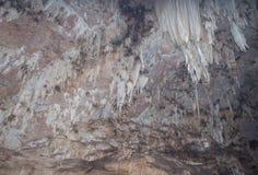 Σταλακτίτες σε μια σπηλιά στο maehongson, Ταϊλάνδη Στοκ φωτογραφία με δικαίωμα ελεύθερης χρήσης