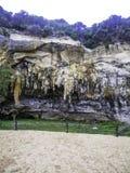Σταλακτίτες/σταλαγμίτες στο φαράγγι Ard λιμνών, Μελβούρνη, Βικτώρια, Αυστραλία Στοκ Εικόνες