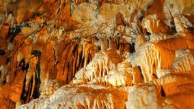 σταλακτίτης, εσωτερική σπηλιά Mencilis, safranbolu Τουρκία φιλμ μικρού μήκους