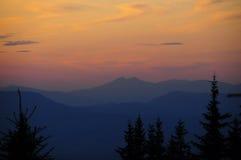 Στα βουνά στοκ εικόνες με δικαίωμα ελεύθερης χρήσης