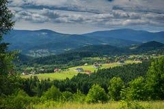 Στα βουνά Beskidy Στοκ φωτογραφία με δικαίωμα ελεύθερης χρήσης