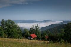 Στα βουνά Beskidy Στοκ φωτογραφίες με δικαίωμα ελεύθερης χρήσης