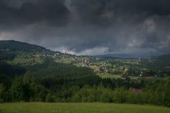 Στα βουνά Beskidy Στοκ εικόνες με δικαίωμα ελεύθερης χρήσης