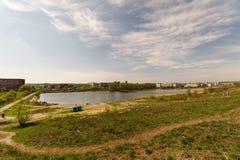 Στα περίχωρα της πόλης Στοκ φωτογραφίες με δικαίωμα ελεύθερης χρήσης