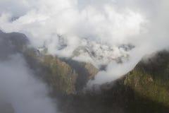 Στα σύννεφα Στοκ Εικόνες