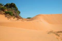 Στα σύνορα των κόκκινων αμμόλοφων του ΝΕ Mui Βιετνάμ Στοκ Εικόνα