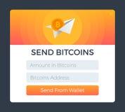 Στείλετε από το πορτοφόλι απεικόνιση αποθεμάτων