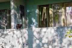 Στεγάζοντας χαμηλού εισοδήματος οικογένειες στοκ φωτογραφίες με δικαίωμα ελεύθερης χρήσης