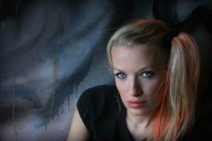 στενά γκράφιτι επάνω Στοκ φωτογραφία με δικαίωμα ελεύθερης χρήσης