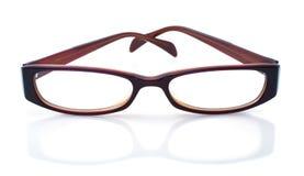 στενά γυαλιά επάνω Στοκ Εικόνα