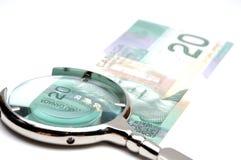 στενά δολάρια είκοσι επάν& Στοκ φωτογραφία με δικαίωμα ελεύθερης χρήσης