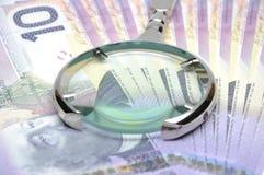 στενά δολάρια είκοσι επάν& Στοκ εικόνα με δικαίωμα ελεύθερης χρήσης