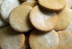στενά μπισκότα επάνω Στοκ Φωτογραφία