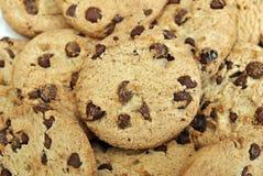 στενά μπισκότα σοκολάτας Στοκ φωτογραφία με δικαίωμα ελεύθερης χρήσης