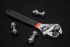 στενά παλαιά σκουριασμένα γρατσουνισμένα εργαλεία χεριών επάνω Στοκ εικόνες με δικαίωμα ελεύθερης χρήσης