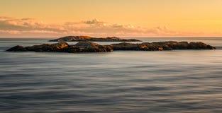 Στενά του Juan de Fuca Στοκ Φωτογραφία