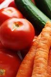 στενά φρέσκα επάνω λαχανικά Στοκ Εικόνες