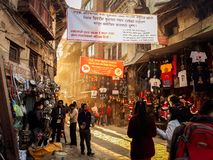 Στενές οδοί Asan στοκ φωτογραφία με δικαίωμα ελεύθερης χρήσης