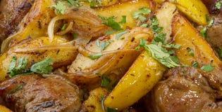 στενές πατάτες κρέατος ε&pi Στοκ Φωτογραφίες
