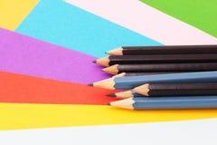 στενές σχολικές προμήθειες μοιρογνωμόνιων πυξίδων επάνω Στοκ Φωτογραφία