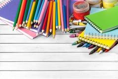 στενές σχολικές προμήθειες μοιρογνωμόνιων πυξίδων επάνω Στοκ φωτογραφία με δικαίωμα ελεύθερης χρήσης