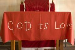 στενή αγάπη Θεών Βίβλων επάνω Στοκ Εικόνες